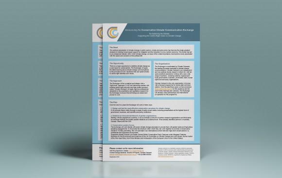 CCC Exchange flyer